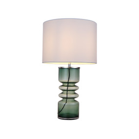 Table Lamp - E14 40W 490mm Green and White