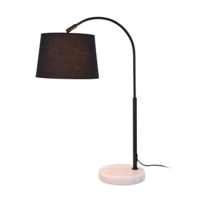 Table Lamp - E27 60W 620mm Black and White