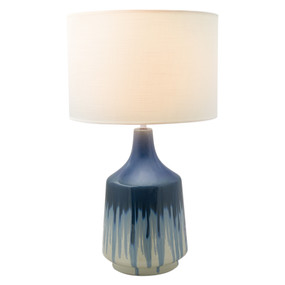 Table Lamp - E27 60W 630mm White and Blue