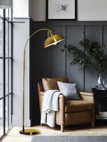Floor Lamp - E27 60W 1400mm Brass