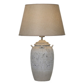 Antikva Table Lamp - E27 60W 550mm Brown and Grey