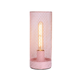 Table Lamp - E27 60W 290mm Pink