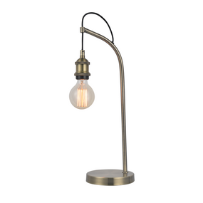 Table Lamp - E27 60W 500mm Antique Brass