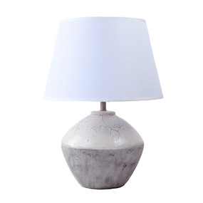 Orfo Table Lamp - E27 60W 430mm White and Grey