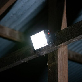 Solar Flood Light With Remote Control - 3000lm IP65 IK10 5000K Commercial Strength