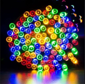 Solar Fairy Lights - 10m RGB