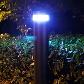 Solar Bollard Light - 240lm IP65 Dual Colour 1000mm Black Industrial Strength