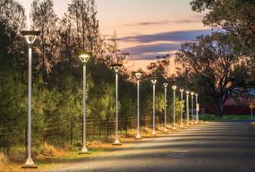 Solar Street Light - Industrial Grade 2600lm 20W IP65 IK10 3000K