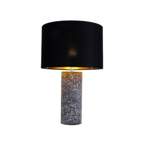 Table Lamp - E27 60W 480mm Black and Grey