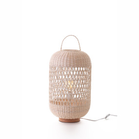 Table Lamp - E27 60W 630mm Natural Rattan