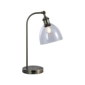 Desk Lamp - E27 60W 460mm Antique Brass