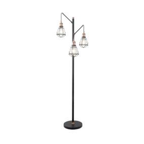 E27 180W Floor Lamp 1510mm Black