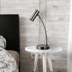 Table Lamp - GU10 25W 470mm Antique Brass