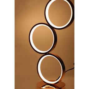 Table Lamp - LED 18W 400lm 2500K 440mm Rose Gold