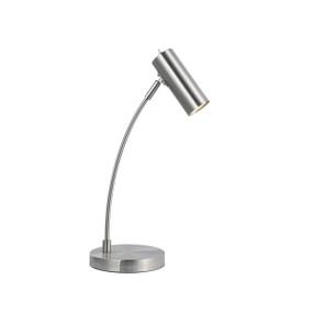 Table Lamp - GU10 25W 470mm Satin Chrome