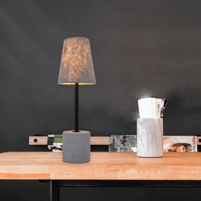 Table Lamp - E27 60W 440mm Concrete