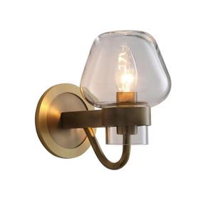 Sconce - E14 210mm Brass