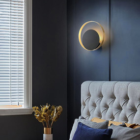 Sconce - G9 250mm Brass and Black
