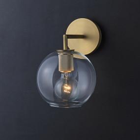 Sconce - E27 180mm Brass