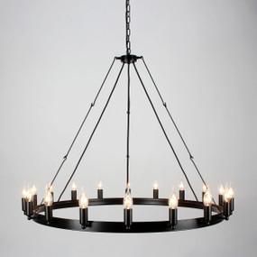Chandelier - 1080W E14 1000mm Black