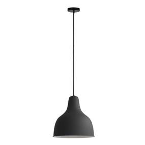 Pendant Light - E27 60W 300mm Sand Black