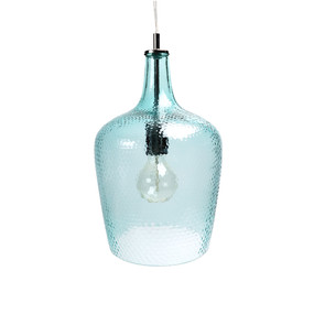 Pendant Light - E27 60W 230mm Aqua Blue