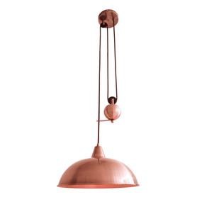 Pendant Light - E27 60W 370mm Copper