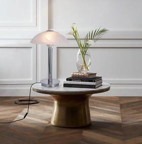 Table Lamp - E14 80W 440mm Chrome