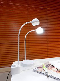 Desk Lamp - 2.4W 400lm IP20 4000K 400mm White Clamp