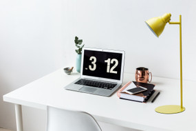 Desk Lamp - GU10 25W 450mm Yellow