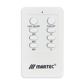 Ceiling Fan AC Remote Control MR5 - White
