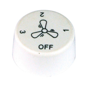 Ceiling Fan Wall Control Replacement Knob MR1 - White