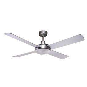 Ceiling Fan - 132cm 52inch 60W Brushed Aluminium 3 Speed