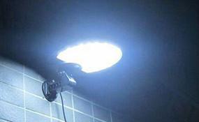 Solar Wall Light With Motion Sensor and Alarm - Heavy Duty Brightness