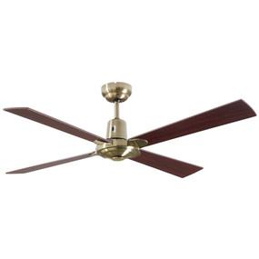 Ceiling Fan - 122cm 48inch 60W Antique Brass 3 Speed
