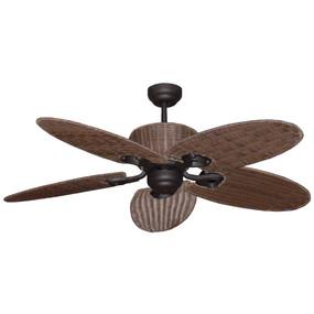 Mezuri Ceiling Fan - 132cm 56inch 63W Old Bronze 3 Speed