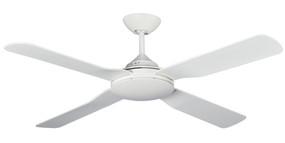 Militi Ceiling Fan - 142cm 56inch 65W IP55 White 3 Speed