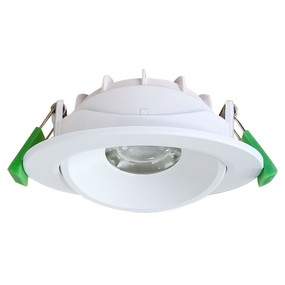 LED Downlight - Dimmable 8W 720lm IP20 Tri Colour 111mm White - Min10