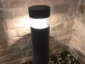 8W LED Stunning Warm White Black Bollard Light - Min10