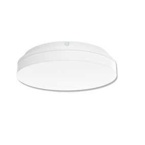 Marine Grade Vandal Resistant Wall or Ceiling Light - 15W 1400lm Tri Colour IP54 IK08 Round White - Min10