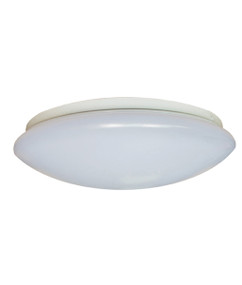 Oyster Light - Round Switchable Colour Temp 410mm 24W White - Min10