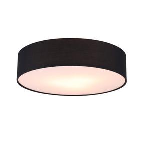 Ceiling Light - E27 180W 500mm Black - Min10