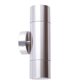 Up Down Light - Polished Cylindrical 12V 210mm 40W Chrome - Min10
