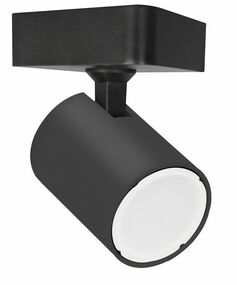 Ceiling Spotlight - GU10 50W IP20 112mm Matte Black - Min10
