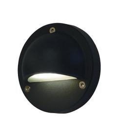 Step Lights | LED Exterior Eyelid Step Light - 12V Black