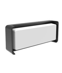 Outdoor Wall Light - Chic Rectangular 3000K 733lm 96mm 13W Dark grey - Min10