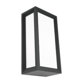 Wall Light - Marine Grade Modern Chic Vertical 40W IP54 285mm Charcoal - Min10