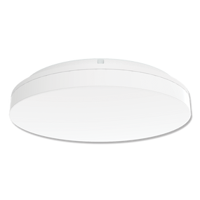 Marine Grade Vandal Resistant Wall or Ceiling Light - 25W 2410lm Tri Colour IP54 IK08 Round White - Min10