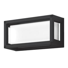Wall Light - Vandal Resistant 7W 350lm IP65 IK08 3000K 250mm Black - Min10