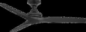 Fan - 152cm 60in 80W Black 3 Speed - Min10